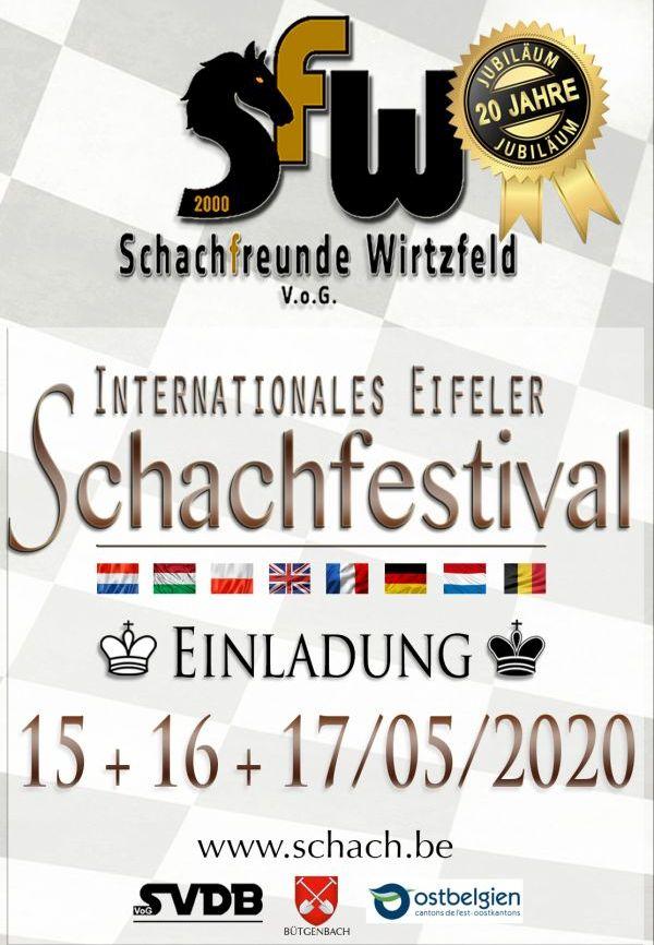 Plakat Eifeler Schachfestival